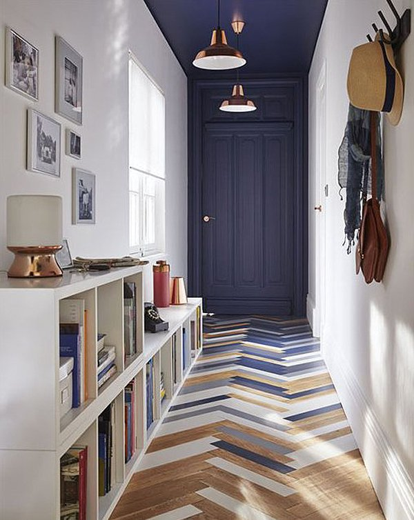 narrow hallway storage solutions