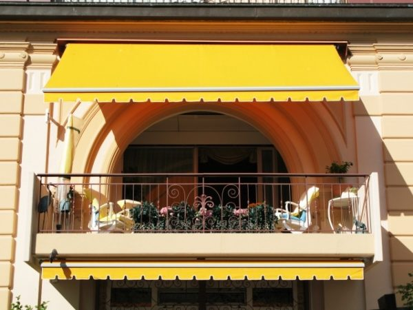balcony sun shade ideas