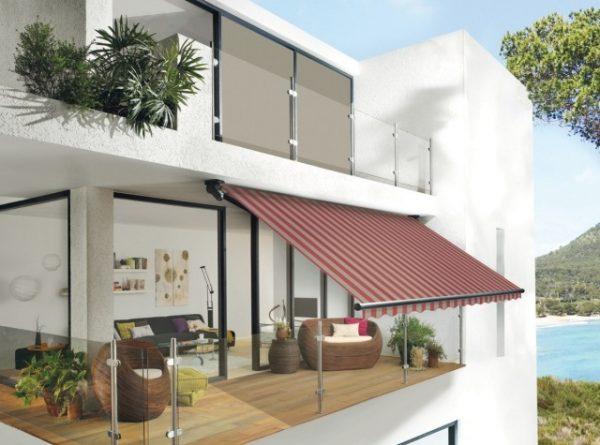modern awning design