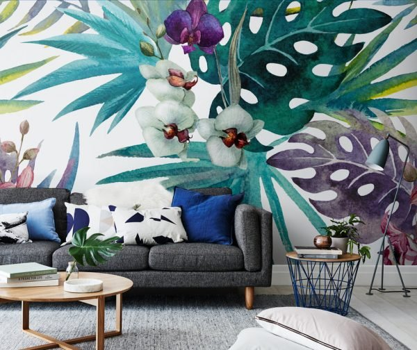 tropical wall decorations ideas