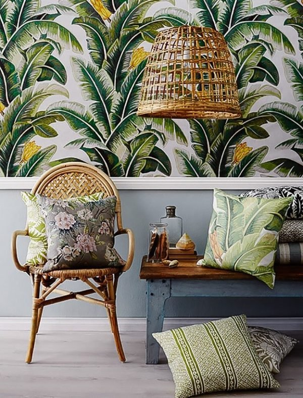 tropical style decor