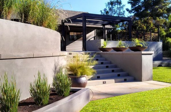concrete retaining wall design