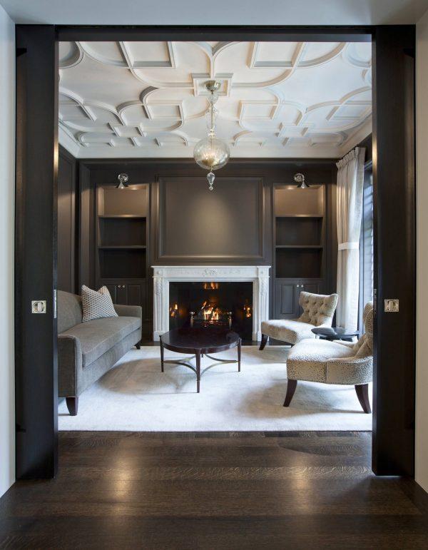 modern ceiling ideas for living room