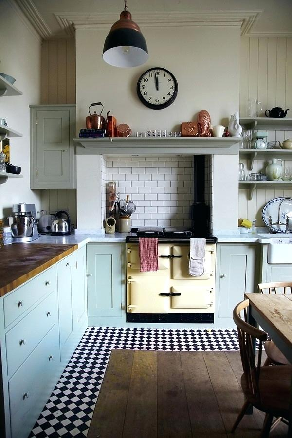 vintage kitchen look