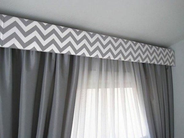 fabric cornice window treatments