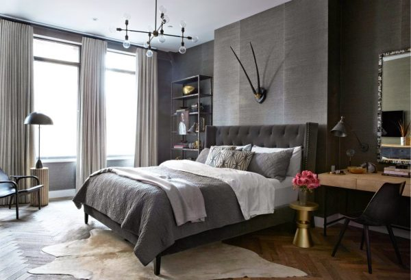 bedroom decorating ideas with gray walls