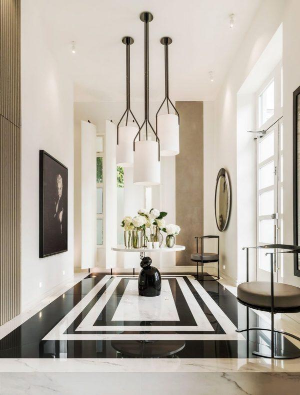 modern foyer designs