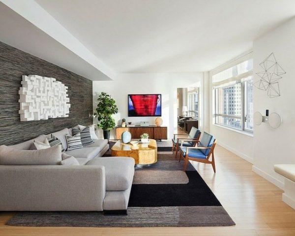 long living room decor