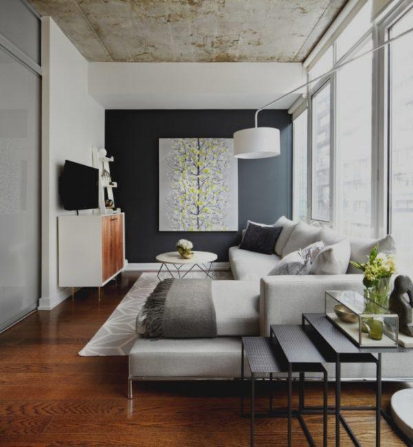 long narrow living room