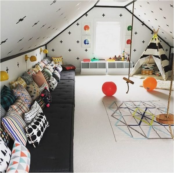 cool attic ideas