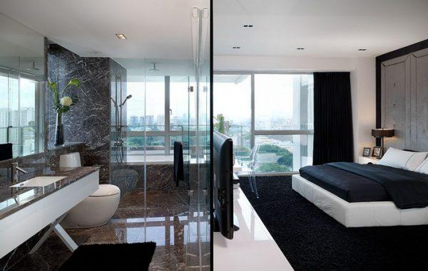 bedroom and bathroom designs