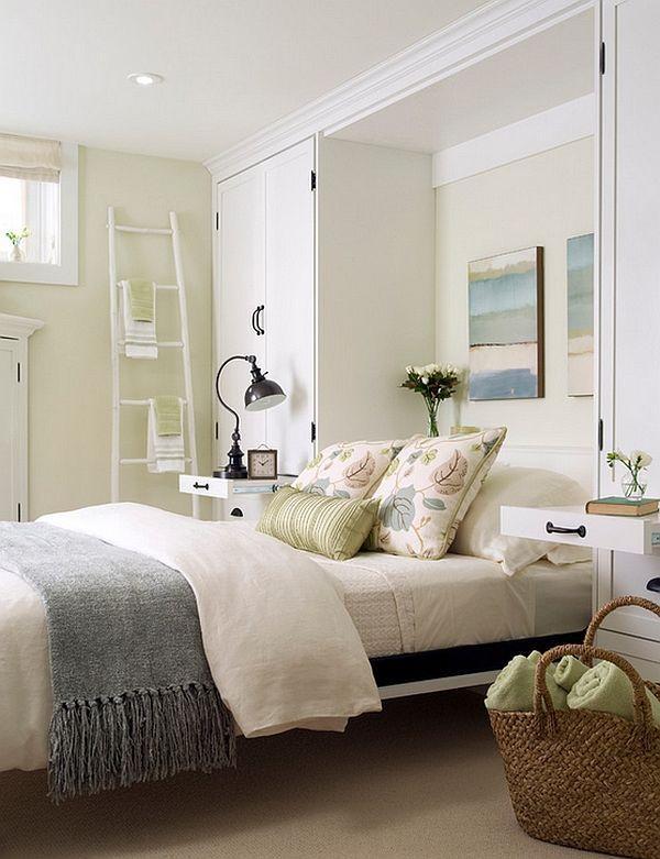 small basement bedroom