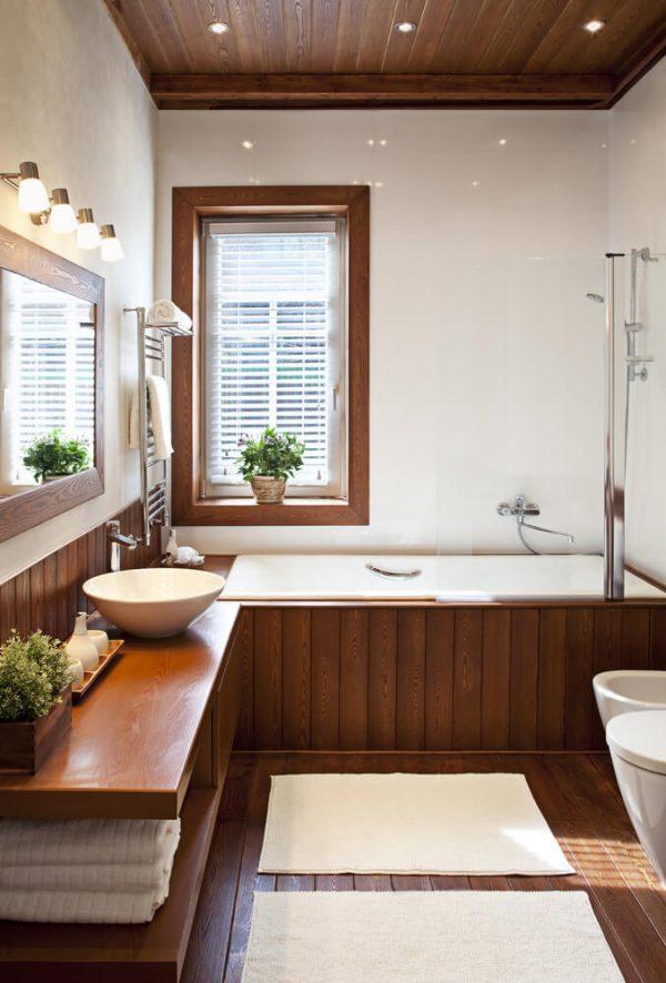bathtub cover wood