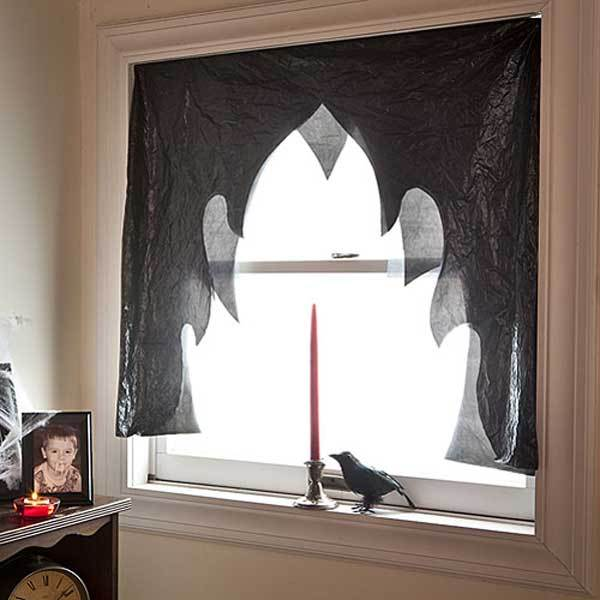 Easy halloween craft ideas with trash bags