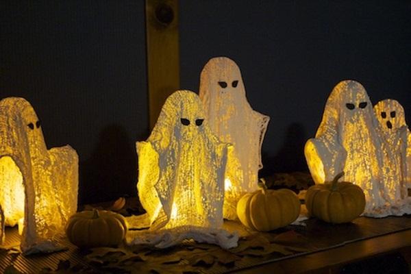 Halloween tea lights
