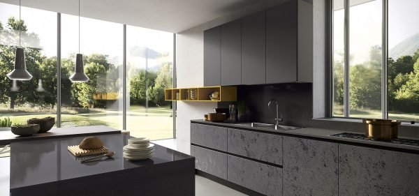 handleless kitchen door design