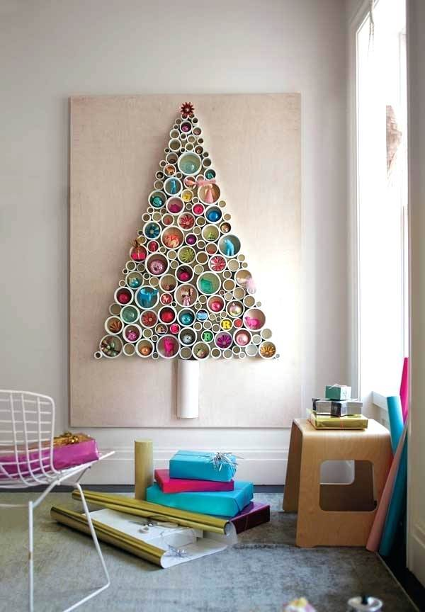 diy wall christmas tree