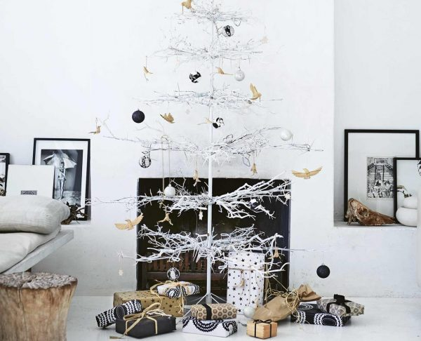 scandinavian christmas tree