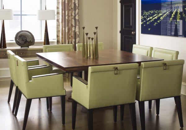 square dining room table for 8
