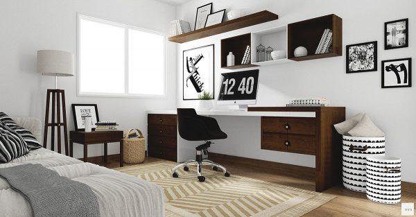 modern minimalist desk
