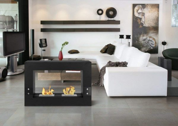 Modern fireplace design