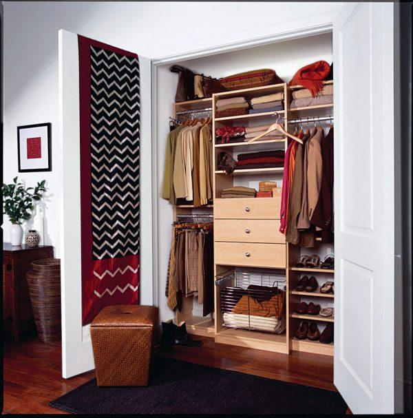How To Organize A Small Closet With Lots Of Clothes