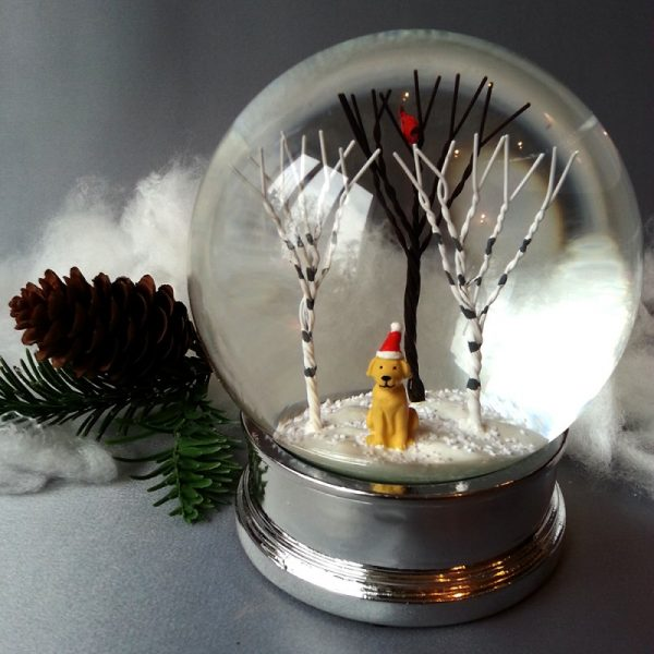 snow globe craft