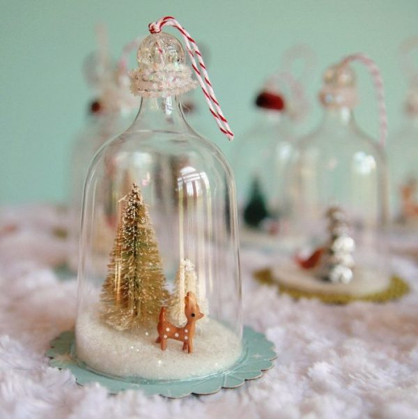 beautiful snow globes