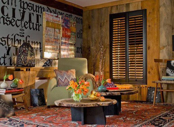 boho style room