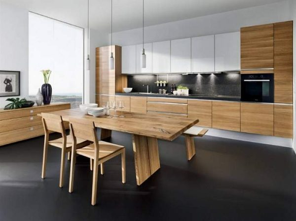 kitchen wood design