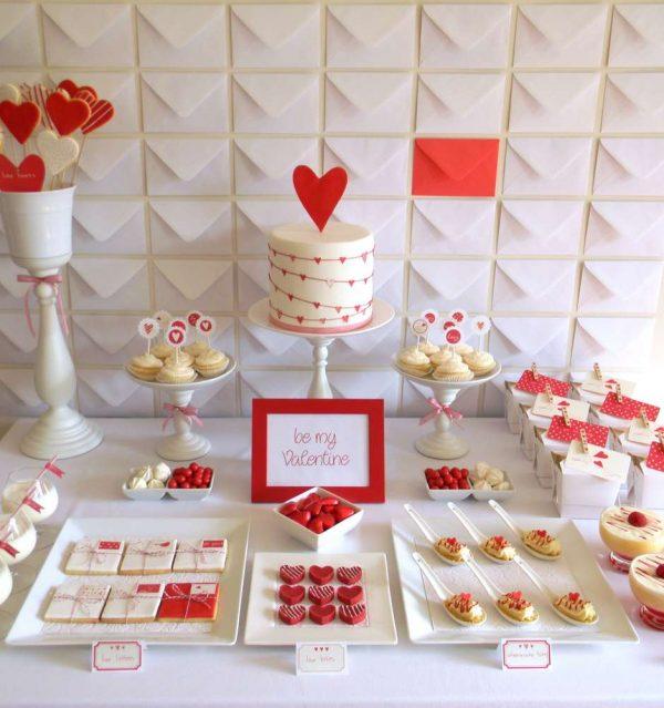 heart themed party ideas