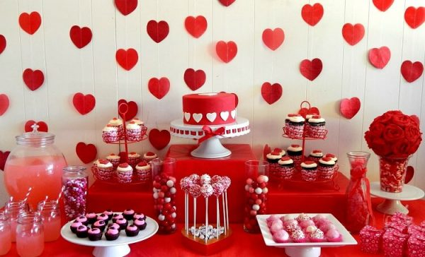 romantic party themes