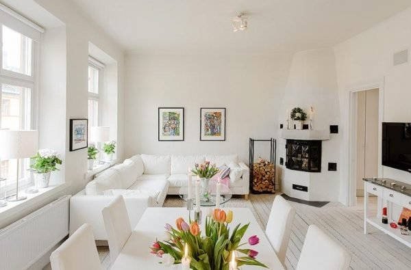 beautiful white living rooms