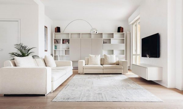 white furniture living room decorating ideas
