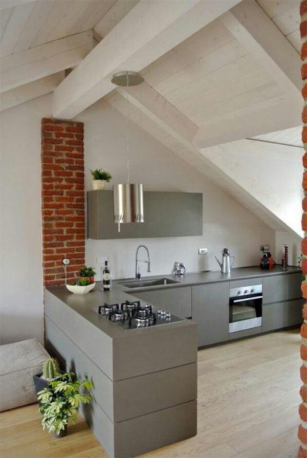 attic apartment ideas