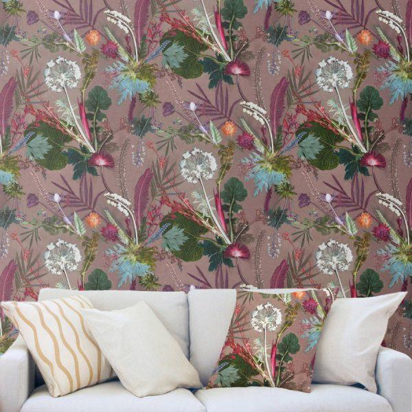 botanical wall decor