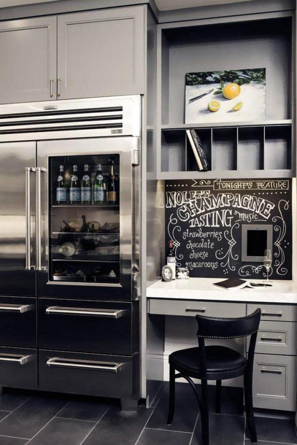 small kitchen office ideas