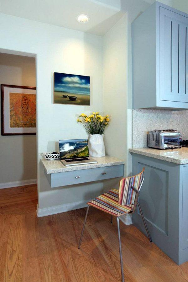 small kitchen office space ideas