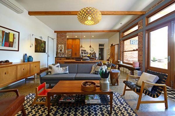mid century living room furniture