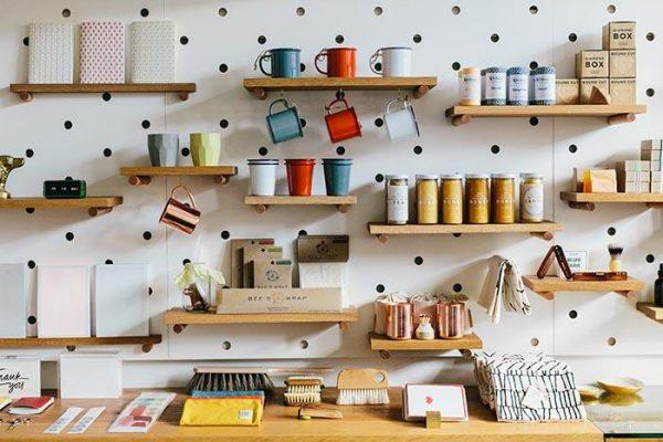 pegboard spice rack