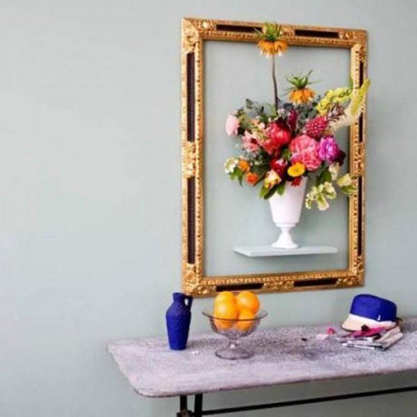 3d flower wall decor