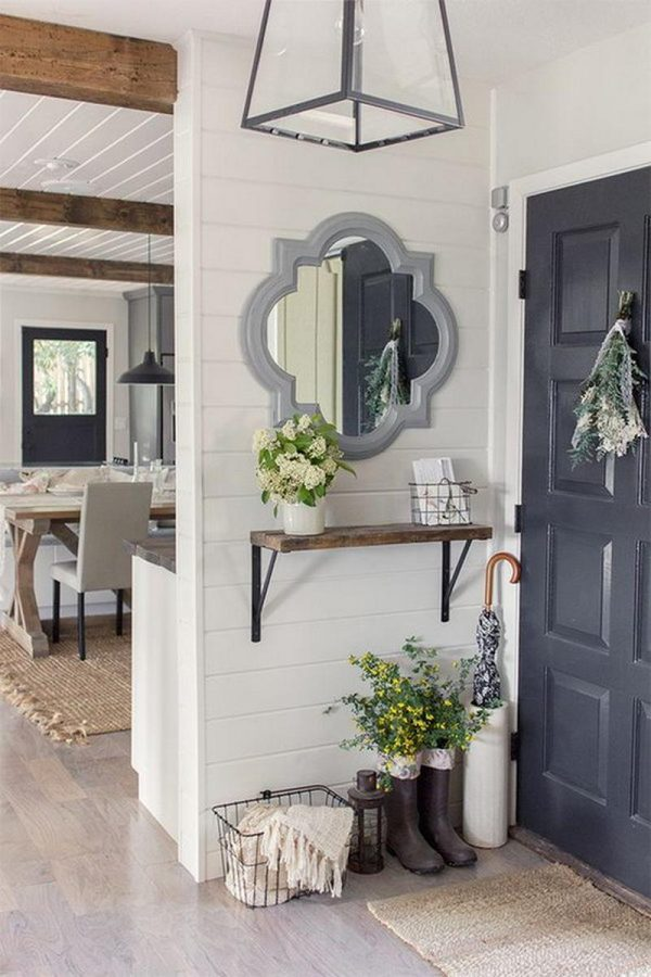 shiplap wall decor