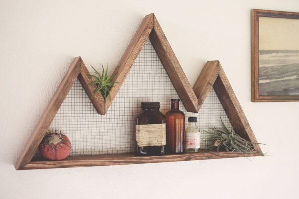wood shelf ideas