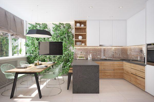 modern u shaped kitchen designs