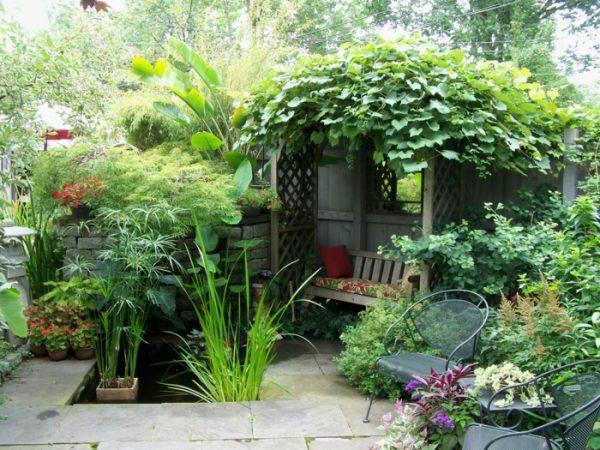 small secret garden