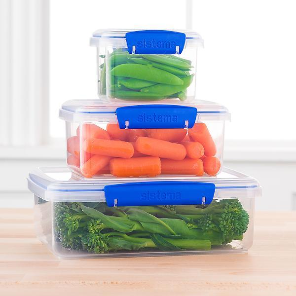 carrots into a plastic container