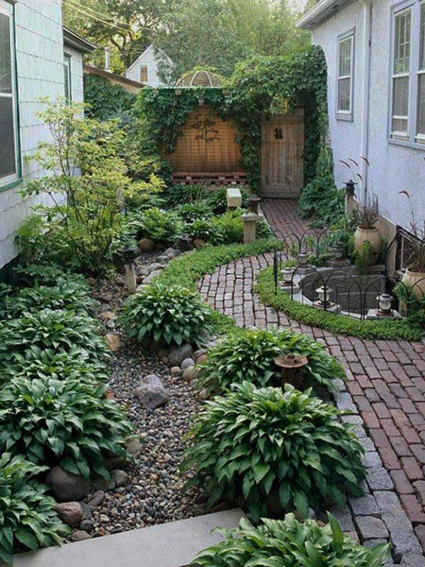 Garden designs without grass
