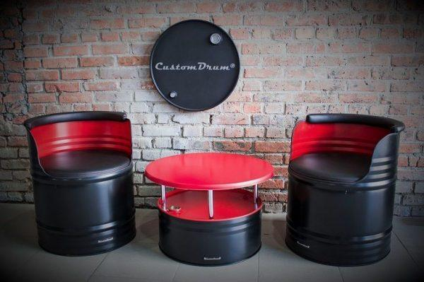 oil drum furniture
