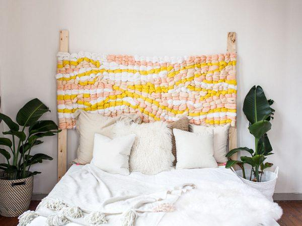 easy diy bedroom decor