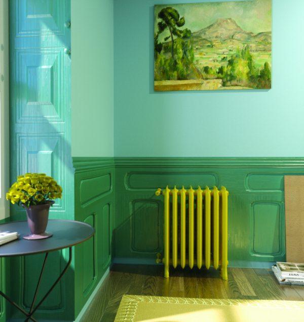 coloured radiators